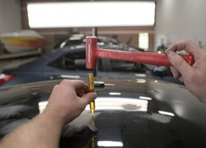 Paintless dent repair in Dallas, Texas