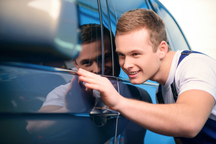 Body shop for mobile dent repair in Plano, TX
